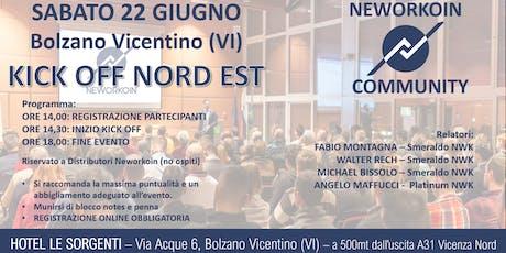 KICK OFF Area Nord Est - VICENZA biglietti