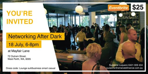 Networking After Dark at Mayfair Lane