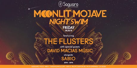 "The Saguaro Palm Springs presents ""Moonlit Mojave"" Night Swim  tickets"