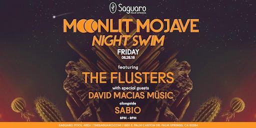 "The Saguaro Palm Springs presents ""Moonlit Mojave"" Night Swim"