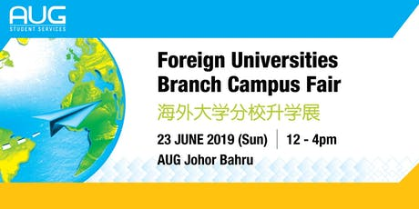FOREIGN UNIVERSITY BRANCH CAMPUS FAIR tickets