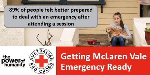 Is McLaren Vale Emergency Ready?