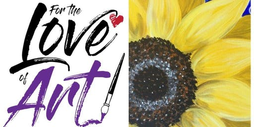 Paint and Sip Class: Giant Sunflower