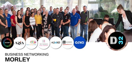 District32 Business Networking Perth – Morley (Bassendean) - Wed 19th June tickets
