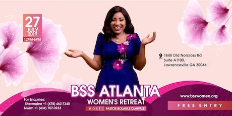 BSS ATLANTA WOMEN'S RETREAT tickets