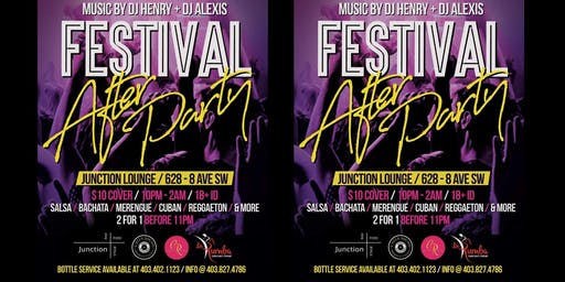★ Latin Festival After Party ★