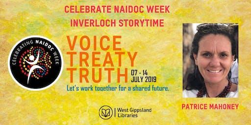 Celebrate Naidoc Week at Inverloch Storytime with Patrice Mahoney
