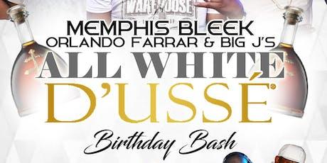 MEMPHIS BLEEK ORLANDO FARRAR & BIG J ALL WHITE D'USSE BIRTHDAY BASH  tickets