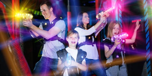 An ADF families event: Friday night at Lasertag, Cairns