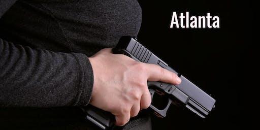 Atlanta GA Conceal Carry Class 8/24 1:00pm