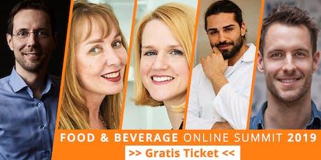 Food & Beverage Innovators (Dienstag, Regensburg) Tickets