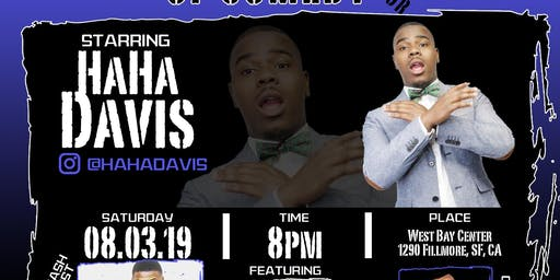 "HaHa Davis ""Big Fellas of comedy tour"" @ fillmoe comedy night"