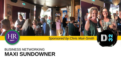 District32 Business Networking Maxi Sundowner - Fri 28th June