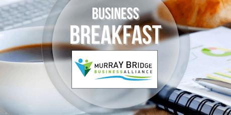 Murray Bridge Business Breakfast July 2019 tickets