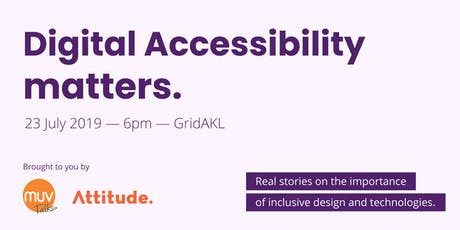 Digital Accessibility Matters tickets