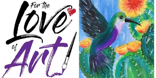 Paint and Sip Class: Hummingbird