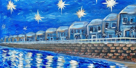 Paint and Sip Class: Over Battery Park tickets