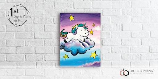 Sunday Sip & Paint : Chubby Unicorn