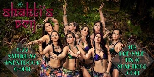 Shakti's Den, an evening of Fusion Bellydance, Burlesque, & more!