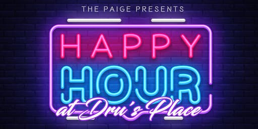 Raffling Happy Hour at Dru's