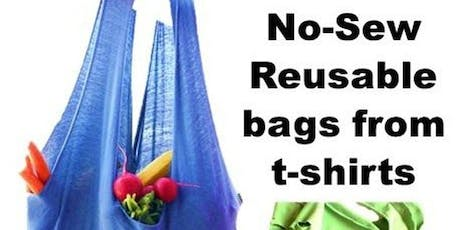 Reusable bag making - July 2019 tickets