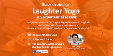 Stress-release Laughter Yoga -An experiential session tickets