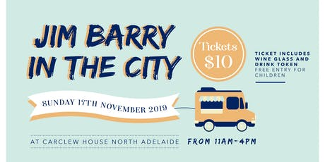 Jim Barry in the City tickets