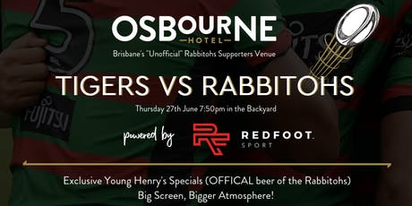 Tigers Vs Rabbitohs - Rabbitohs Fan Brisbane Meetup tickets