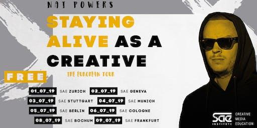 Nat Powers European Tour @SAE Institute Stuttgart