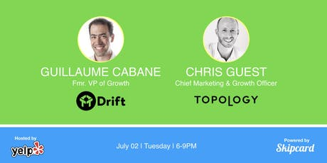 Keynote talks by Drift Fmr. VP of Growth and Topology Marketing & Growth Lead tickets