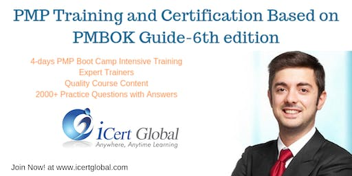 PMP Exam Prep Training and Certification in Seattle,WA,USA | 4-day (PMP) Boot Camp Training from June-Nov 2019