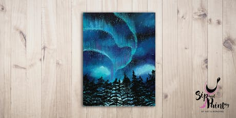 Sip & Paint @ SOULed OUT Ampang : Beautiful Aurora tickets