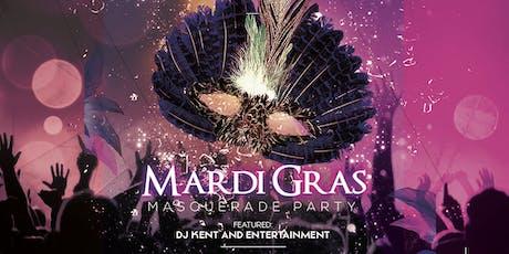 Mardi Gras Masquerade tickets