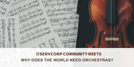Why does the world need orchestras? Community Meets Hobart tickets