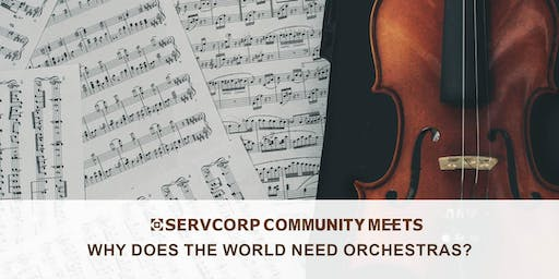 Why does the world need orchestras? Community Meets Hobart