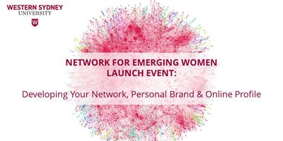 NEW Launch Event: Developing Your Network, Personal Brand & Online Profile