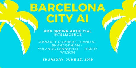 Bcn City AI #3: NLP, AI in Startups and AI for Good entradas