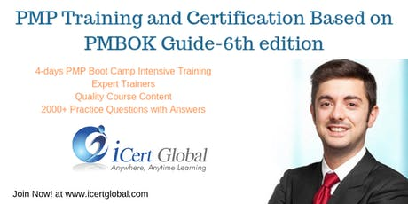 PMP® Exam Prep Training and Certification in Vancouver, BC,Canada | 4-day PMP Boot Camp Training from July-Nov 2019 tickets