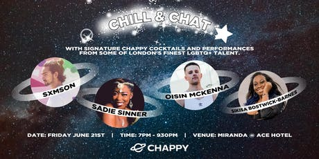 Chappy Chill & Chat Evening tickets