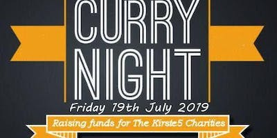 The Kirste5 Charity Curry Night 2019