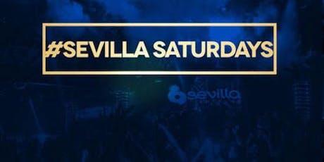Sevilla Saturdays at Sevilla Nightclub Discounted Guestlist - 7/20/2019 tickets