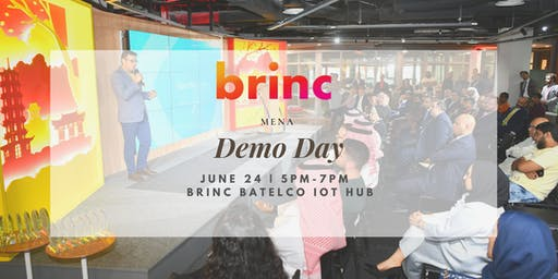 Brinc MENA Demo Day - Spring '19 Cohort