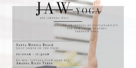 JAW Yoga: Santa Monica Beach tickets