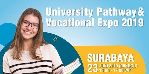 Surabaya -  University Pathway & Vocational Expo 2019