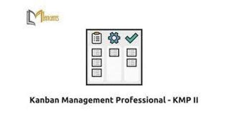 Kanban Management Professional – KMP II 2 Days Training in Montreal tickets