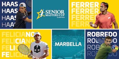 ENTRADAS SÁBADO 28: Senior Masters Cup  Marbella 2019 entradas