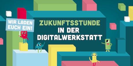 Kostenloser Schnuppernachmittag: Zukunftsstunde in der Digitalwerkstatt Tickets
