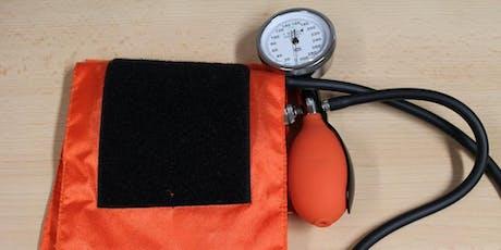 Health Checks (Euxton)  #HIW2019 tickets