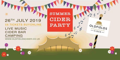 Oldfields Cider's Summer Party tickets