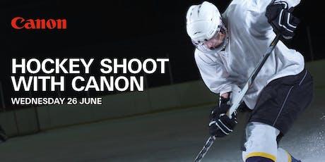 Hockey Shoot with Canon  tickets